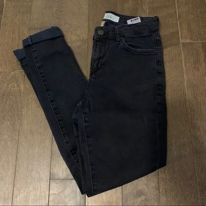 Topshop moto Leigh Jeans tip knee 26